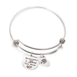 Jewelry - SALE💛  Message Charm Bangle - Remember I Love...